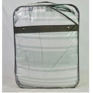 Room Essentials Mint Ash Stripe Comforter Set